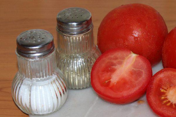 сол в домакинството