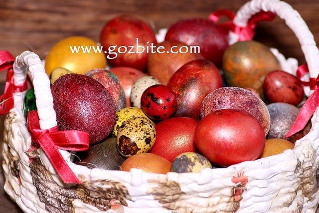 Декорирани яйца за Великден