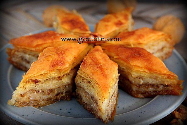 сервирана турска баклава