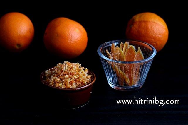 портокалови корички